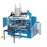 AK1400 PERFORATED BOTTOM SEALED SHAFTLESS BAG ON ROLL MAKING MACHINE ( FULL AUTOMATIC )
