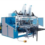 AK1450 PERFORATED BOTTOM SEALED SHAFTLESS BAG ON ROLL MAKING MACHINE (SEMI -AUTOMATIC)