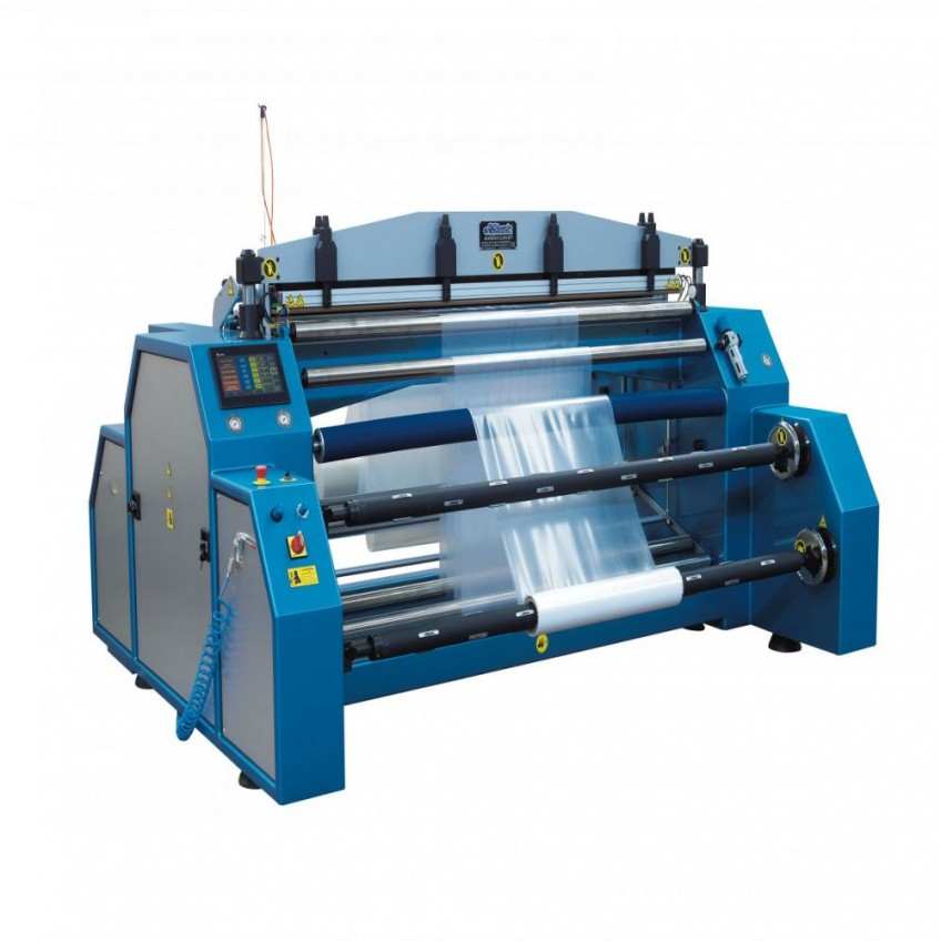 AK1800 THE ROLL SACK MACHINE WITH PERFORATOR ( AUTOMATIC LOADING SYSTEM )